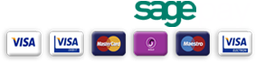Payments secured by SagePay on Reids Trophies, sports trophies, buy trophies online