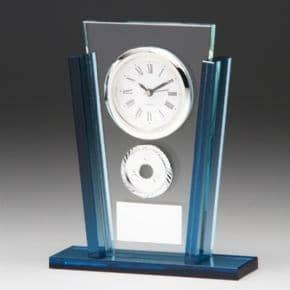 Eclipse Jade Azure Clock