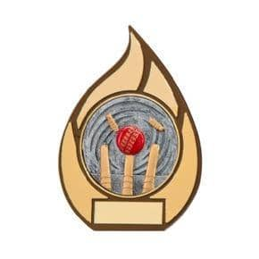 Inferno Cricket Plaque